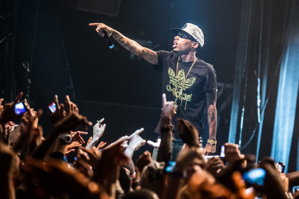 'Kid Ink' in Concert At Le Bataclan