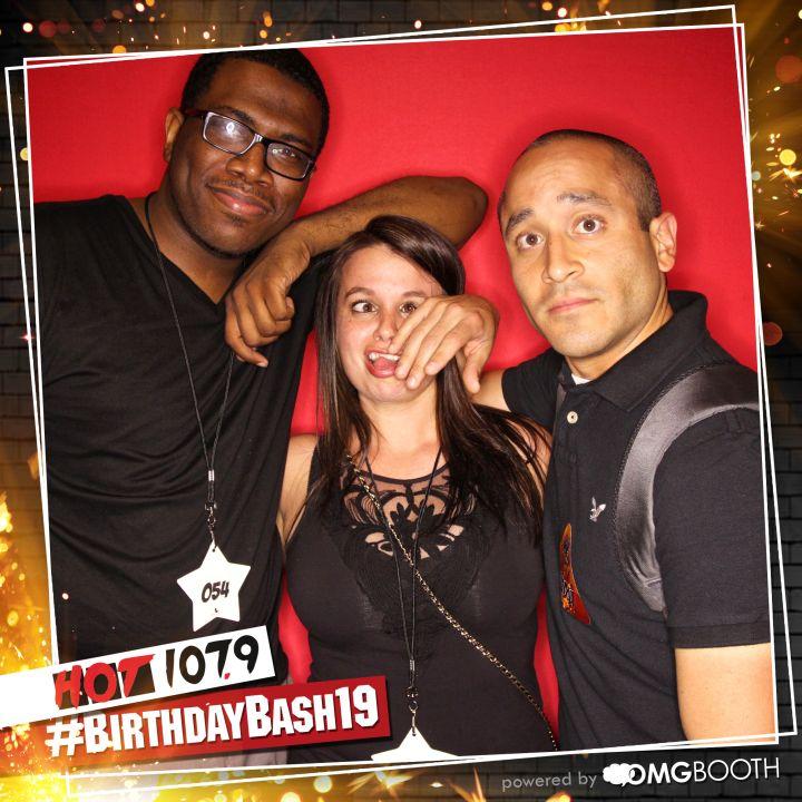 OMG Booth Backstage at #BirthdayBash19