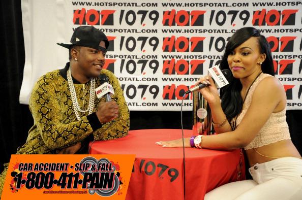 Hot 107.9's Birthday Bash 19 - Backstage