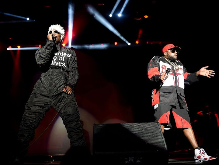 Andre 3000 and Big Boi of Outkast