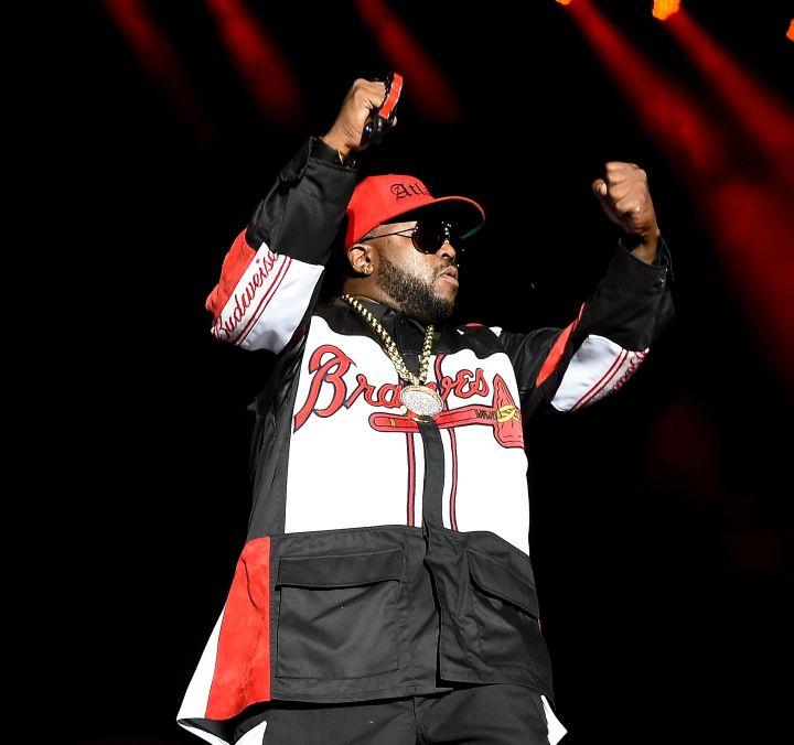 Rapper Big Boi of Outkast