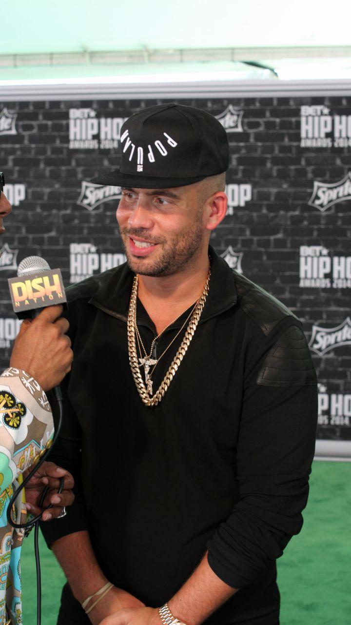 DJ Drama at the Hip Hop Awards