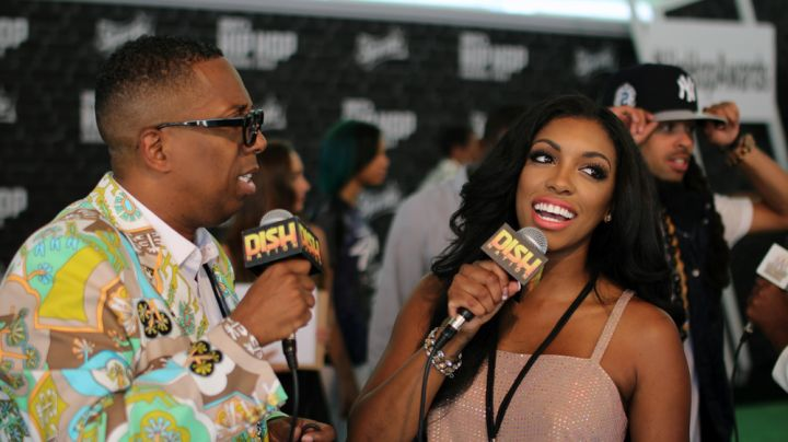Gary & Porsha Williams Reporting For Dish Nation