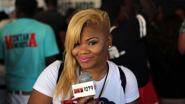 MzShyneka at the Hip Hop Awards