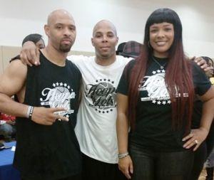 Kiwanne Garris, REEC, Syleena Johnson At Hoopin For Tots
