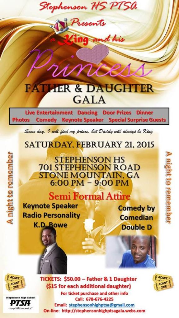 Father Daughter flyer