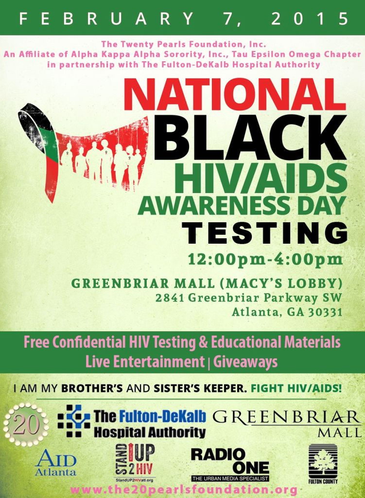 National HIV-AIDS Day Greenbriar Mall event