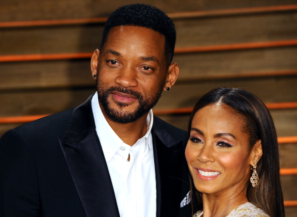 Will Smith and Jada Pinkett Smith attend the 2014 Vanity Fair Oscar Party hosted by Graydon Carter on March 2, 2014 in West Hollywood, California. (Photo by Anthony Harvey/Getty Images)