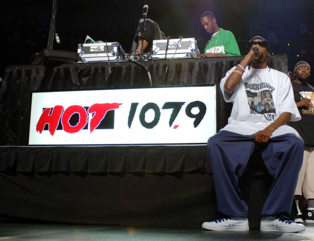 Snoop Dogg at Hot 107.9's Birthday Bash 11