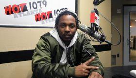 Kendrick Lamar at Hot 107.9 Atlanta