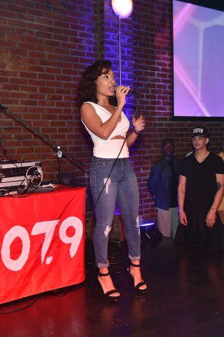 Sevyn Streeter Hot 107.9 Performance and Meet & Greet