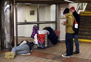 US-SOCIETY-HOMELESS-HOPE PROGRAM-NYC