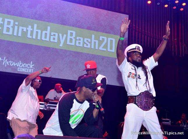 Hot 107.9 #BirthdayBash20 Classic Throwback Concert
