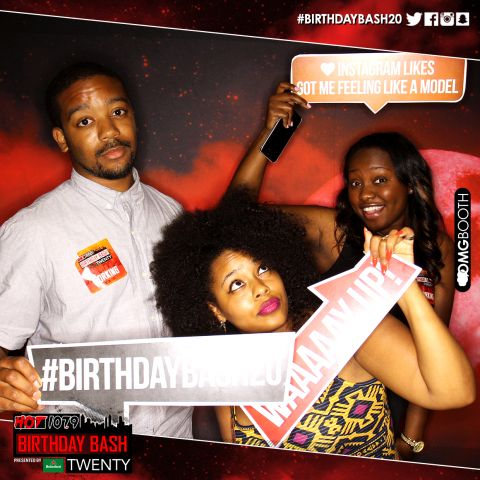 OMG Booth #BirthdayBash20