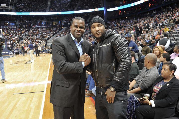 Celebrities Attend Cleveland Cavaliers Vs. Atlanta Hawks