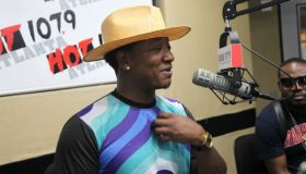 Yung Joc in Hot 107.9 Atlanta studio