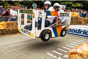 Team Marta Jumps The First Ramp!