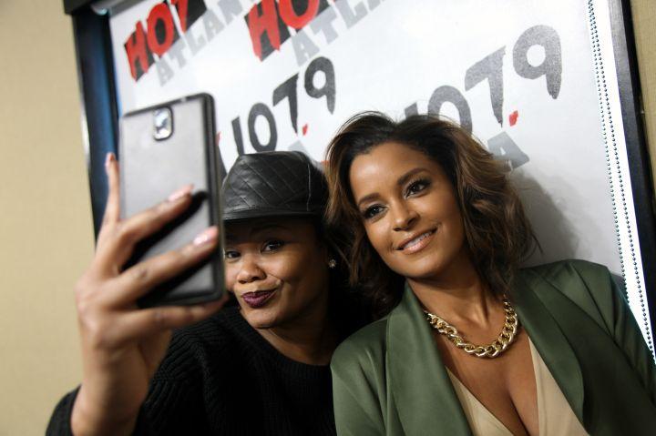 Claudia Jordan, Jennifer Williams, Benzino on Hot 1079