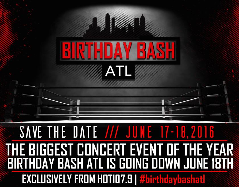 Birthday Bash ATL