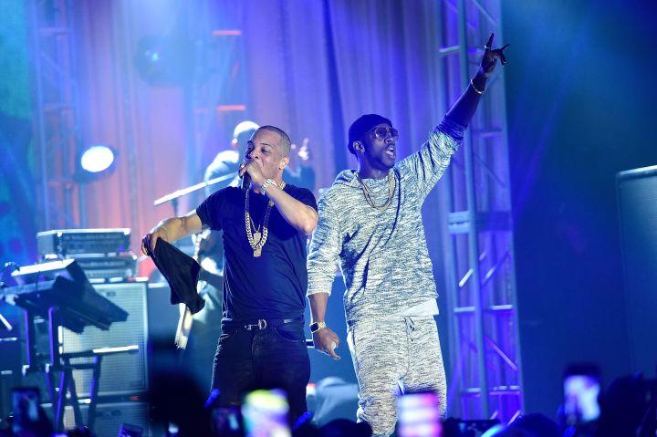 Ti x TIDAL Pop Up Concert