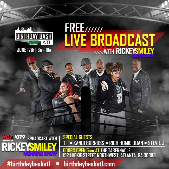 rickey live broadcast