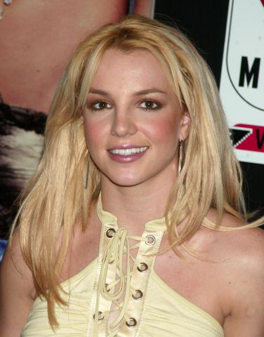 Britney Spears Signs Her New CD In The Zone at Virgin Megastore in New York City