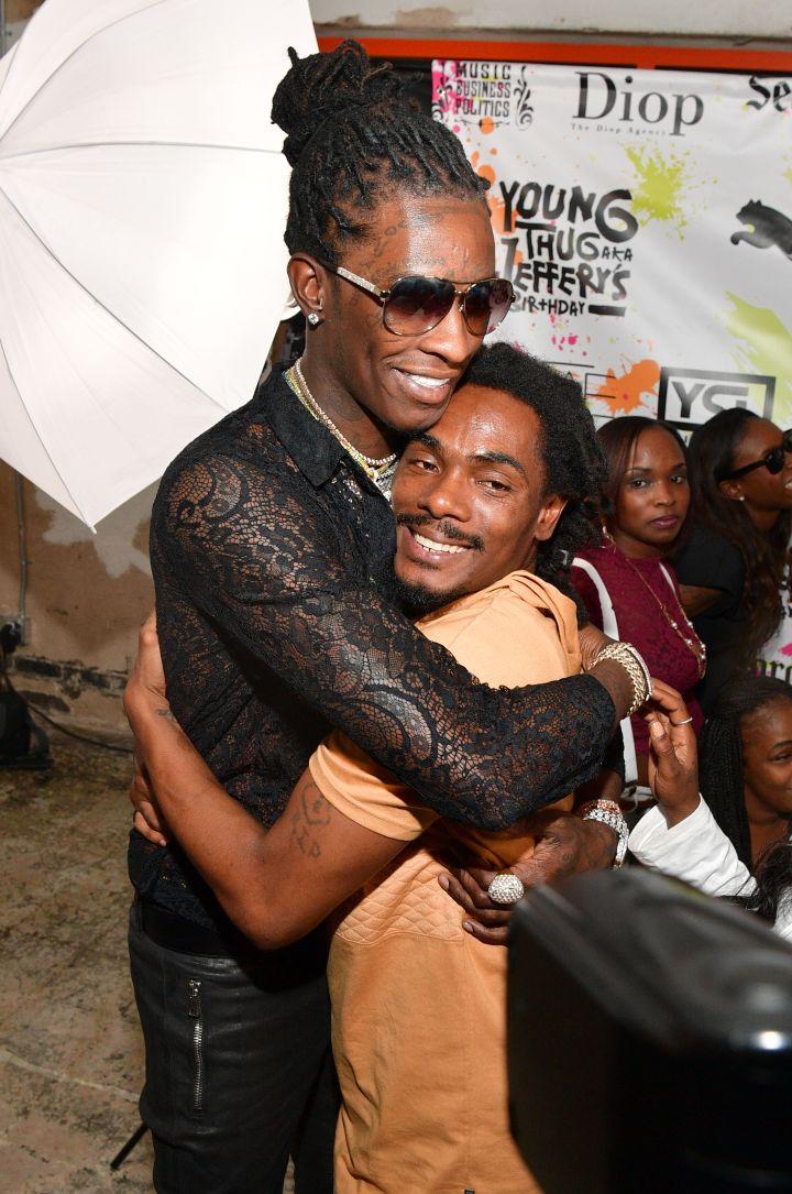 Young Thug Celebrates 25th Birthday