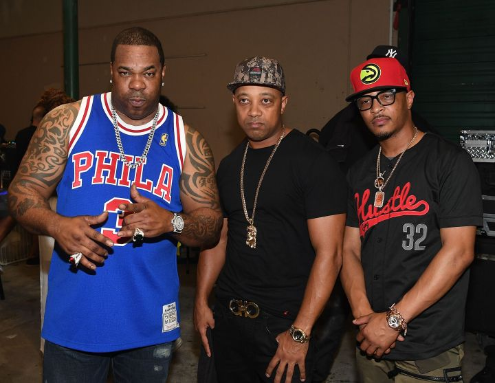 Busta Rhymes and TI