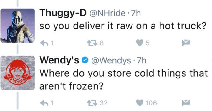Wendy's Roasting Their Hater Trolls 14