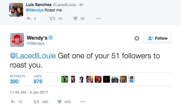 Wendy's Roasting Their Hater Trolls 11