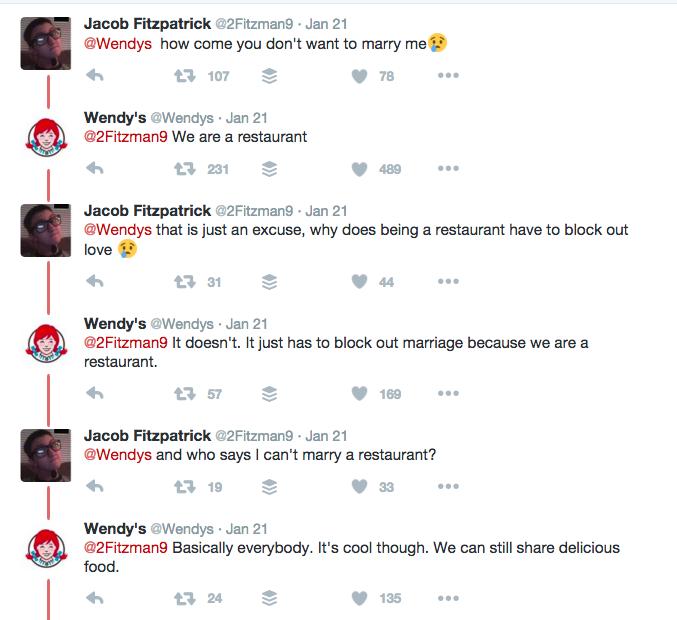 Wendy's Roasting Their Hater Trolls 3