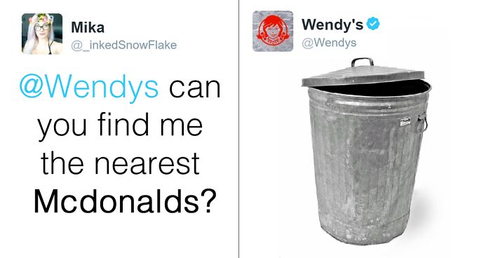 Wendy's Roasting Their Hater Trolls 15