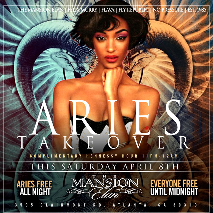 Aries Takeover Only At The Mansion Elan - Client Provided The Mansion Elan