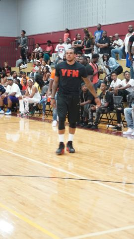 YFN Lucci & BMG Basketball Game