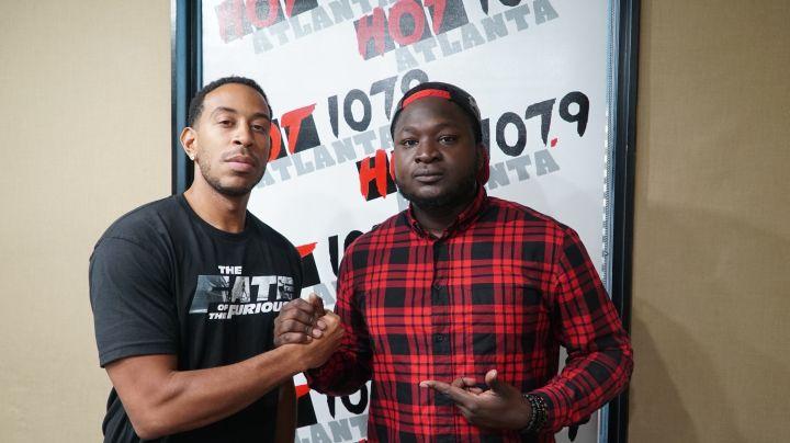Ludacris Visits The The Durtty Boyz Show