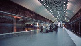 Atlanta Subway Station