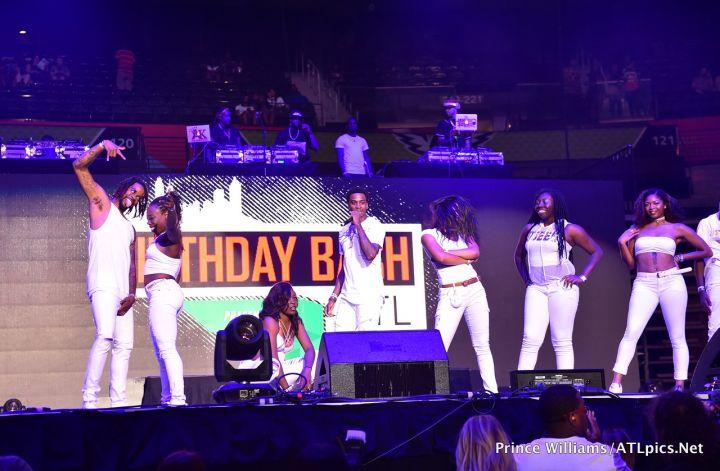 Meechie Ro at #BirthdayBashATL2017