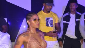 Stevie J. + Joseline Hernandez Host Gold Room