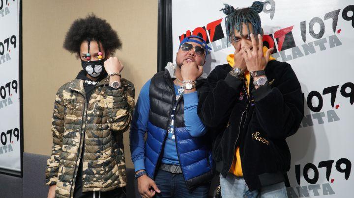 Ayo & Teo Visit The Durtty Boyz Show