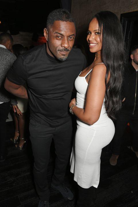 Idris Elba's Christmas Party At Kadie's Cocktail Bar & Club