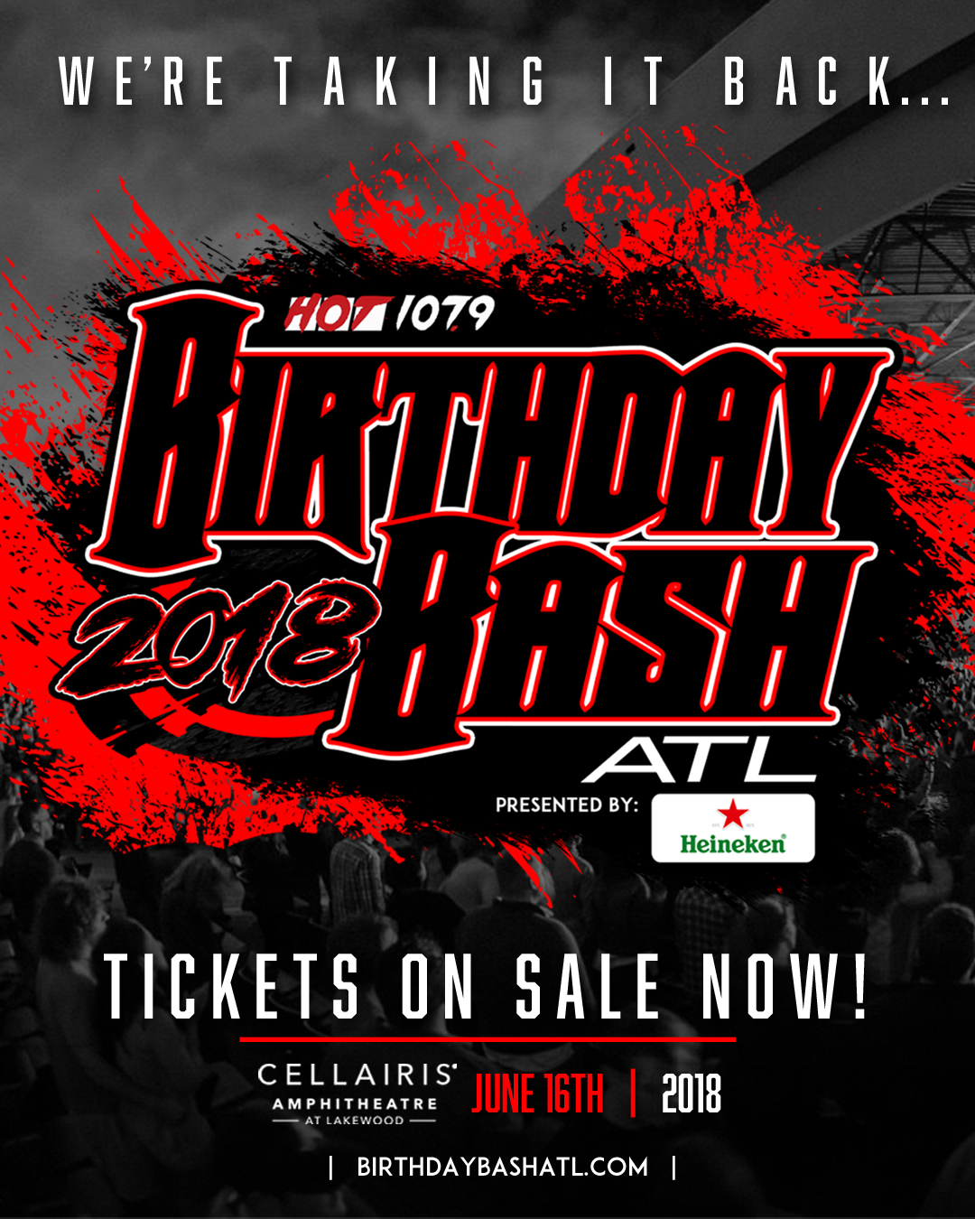 Birthday Bash ATL 2018 graphics