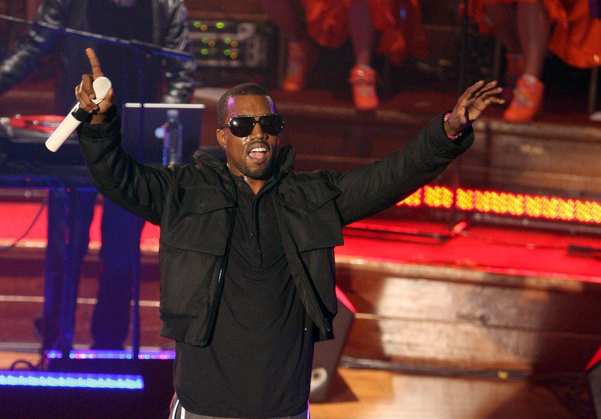 Vodafone TBA gig - Kanye West - London