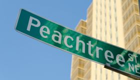 USA, Georgia, Atlanta, Low angle view of Peachtree Center