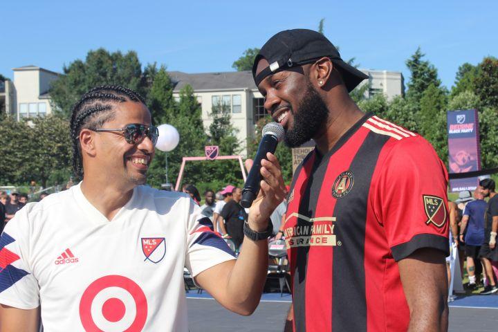 MLS Block Party Celebrity Soccer Game