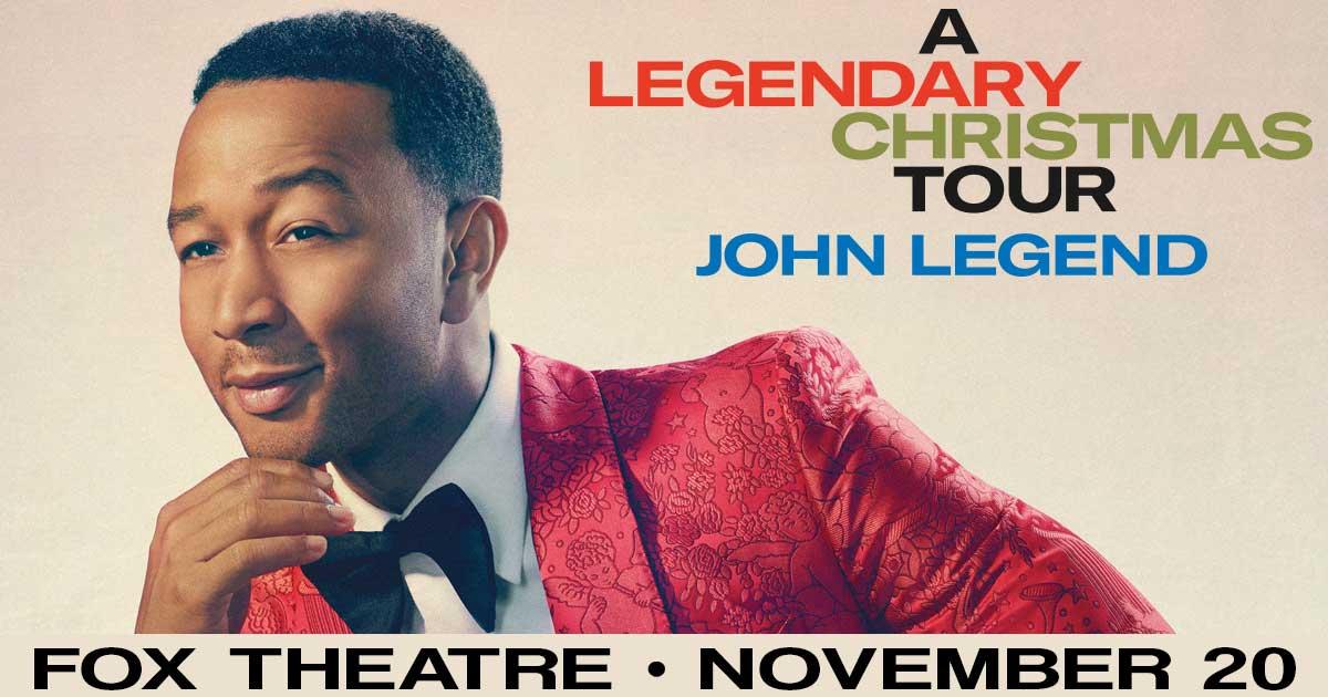 John Legend Fox Theater