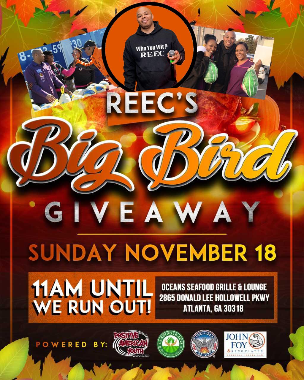 big bird flyer