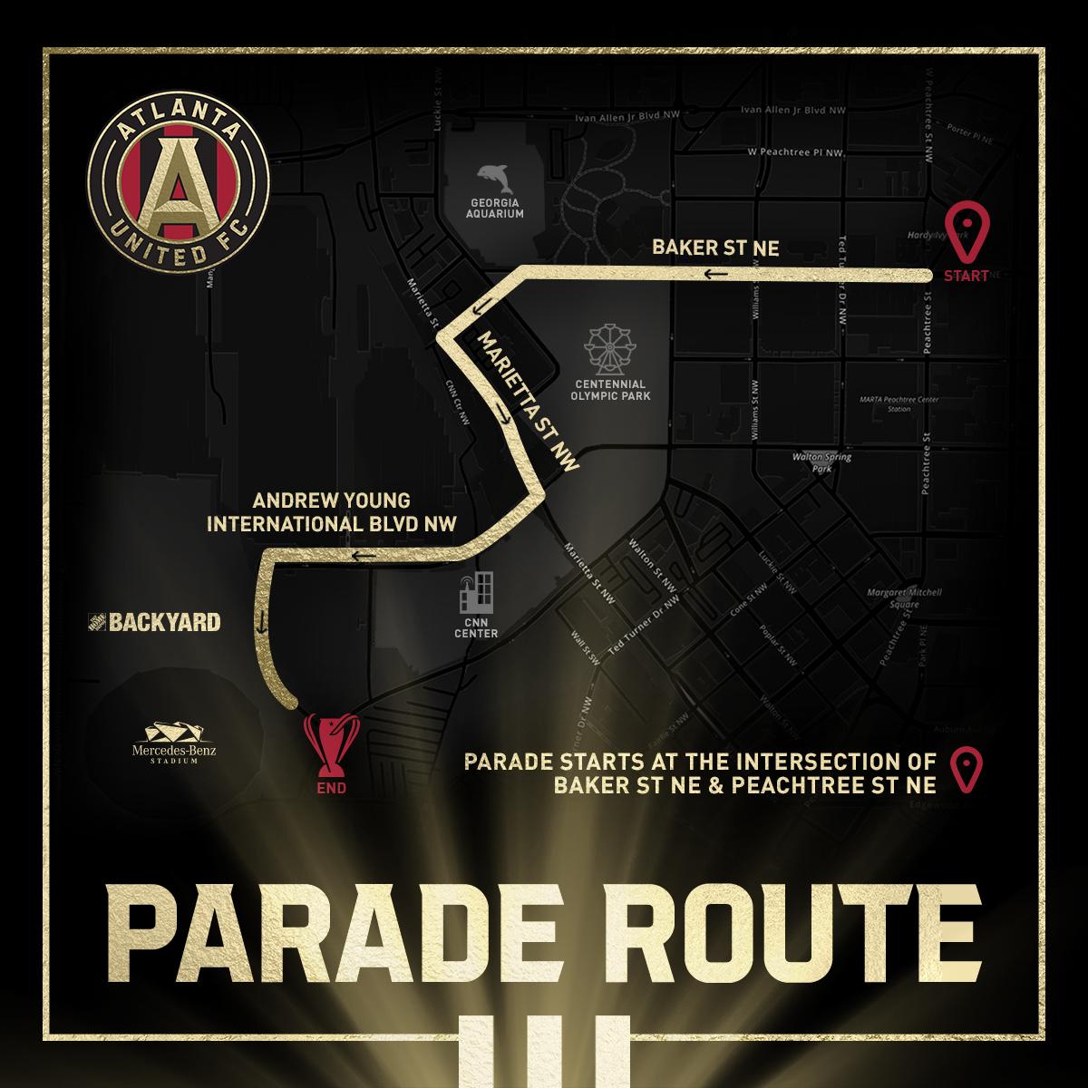 MLS soccer parade