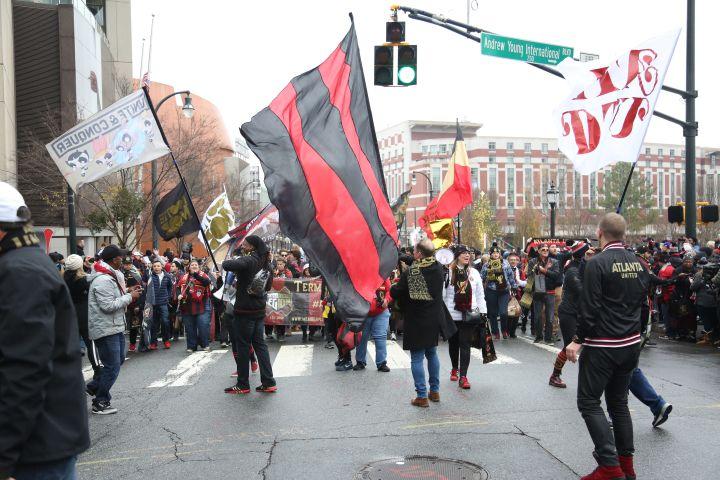Atlanta United MLS Cup Parade