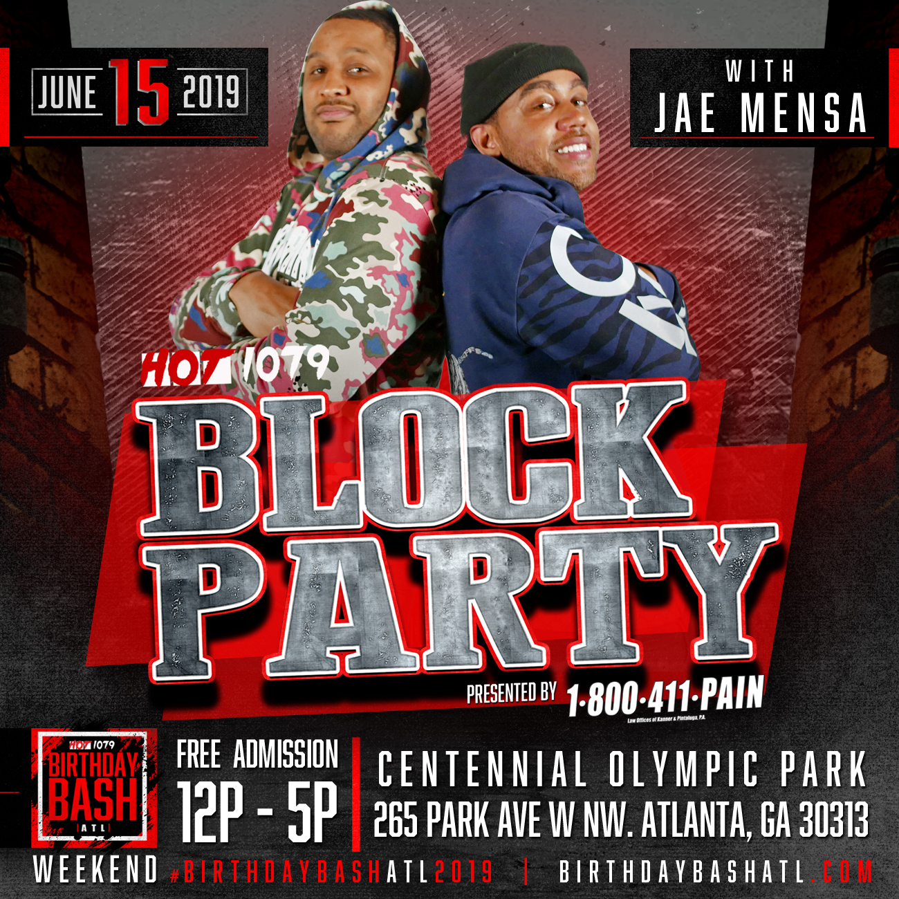 Block Party 2019: Opening/Paid Artist