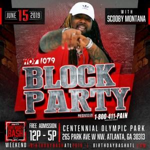 Birthday Bash: Block Party Paid Artist